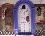 Eingangstür, Bahija Abdouelali, Foto: © Barbara Schumacher