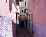 Straße in der Medina von Casablanca, Foto: © Barbara Schumacher
