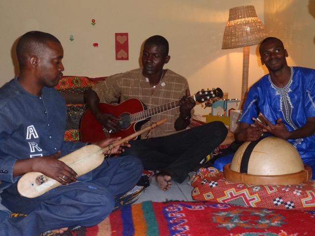 Gruppe Ziza, Nouakchott, Foto: © Edda Brandes