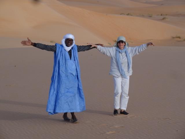 Abdou und Petra, Foto: © Edda Brandes