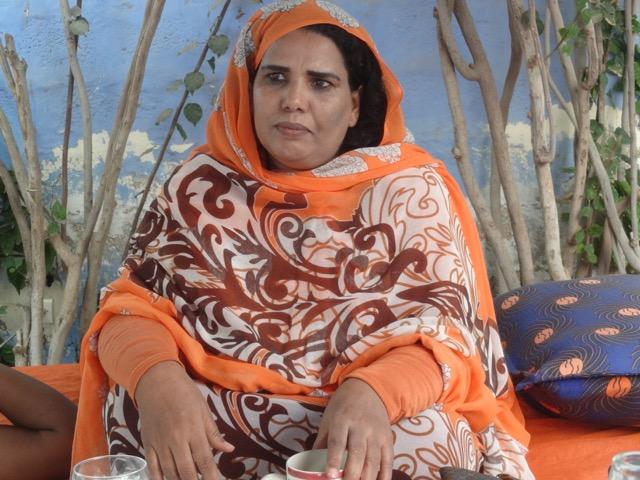 Leila mint Chighali, Foto: © Edda Brandes