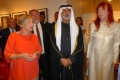 Wendy Watriss, Sheikh Nahyan, Karin Adrian von Roques © Barbara Schumacher