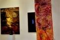 Installation Hängende Papiere © Barbara Schumacher