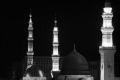 Medinah, Prophet's Dome by Night, 2002, 167 © Reem Al Faisal