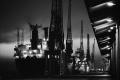 Port of Jeddah, Wharf at Night,1992, 029 © Reem Al Faisal