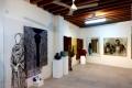 Exponate von Abu Dhabi Art Hub Foto: © Barbara Schumacher