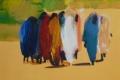 17. Gemälde Frauen © Barbara Schumacher