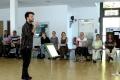 Joss Turnball bie der Probe, 4. Orientalische Musik-Sommerakademie, Foto: Ulrike Askari