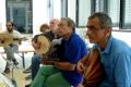 die fortgeschrittenen Oudschüler beim Abschlusskonzert, 4. Orientalische Musik-Sommerakademie, Foto: Ulrike Askari
