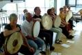 die Percussionsklasse beim Abschlusskonzert, 4. Orientalische Musik-Sommerakademie, Foto: Ulrike Askari