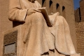 Erbil Skulptur vor dem Eingang der Zitadelle © Barbara Schumacher