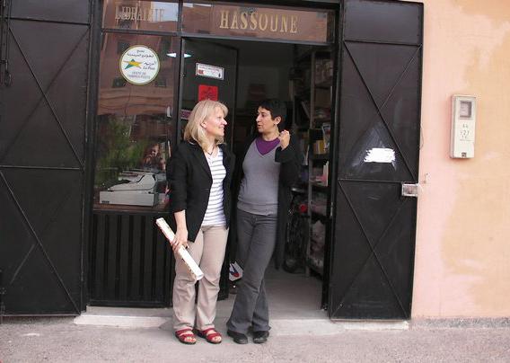 Karawane der Bücher – Auf den Spuren von Jamila Hassoune