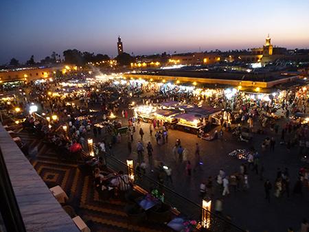 Marrakesch – die Rote