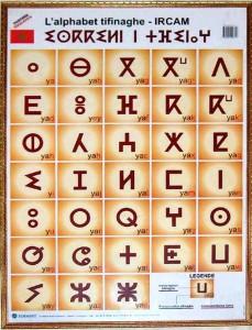 Tifinagh-Alphabeth