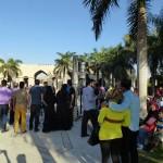 Zuschauer einer folkloristischen Darbietung im Al-Azhar Park, Foto: Ulrike Askari