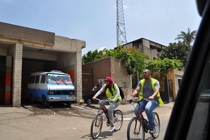 Radfahrer in Ägypten, Foto: Afaf Asakri