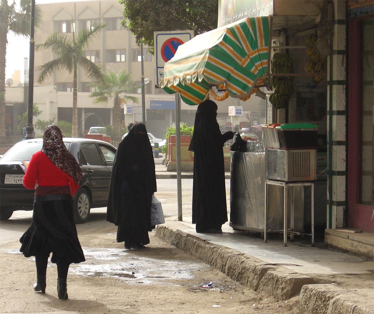 Frauen in Suez © Ulrike Askari