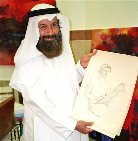 Abdulqader Al Rais Portrait © Barbara Schumacher