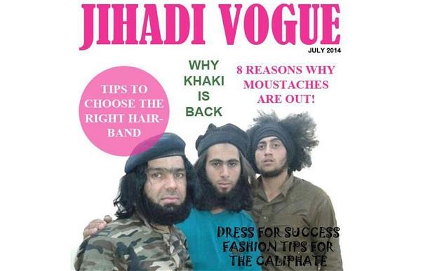 The Telegraph mit Sarkasmus gegen die Gotteskrieger der ISIS-Terroromiliz
