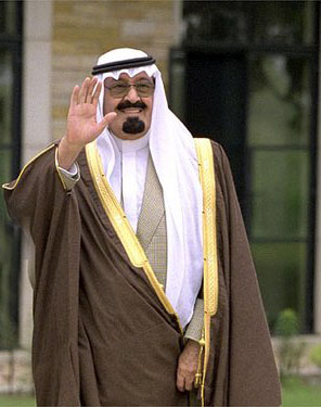 König Abdullah von Saudi Arabien