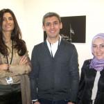 Mohammed Hafiz und Mitarbeiterinnen bei abc Berlin © B. Schumacher