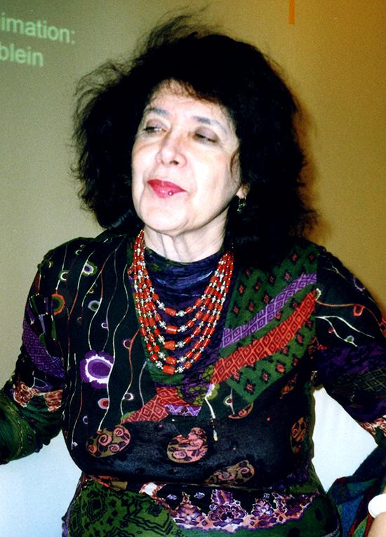 Assia Djebar, Foto: Barbara Schumacher, 2004