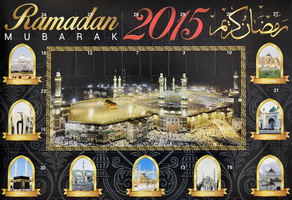Neu im Sortiment – der Ramadankalender