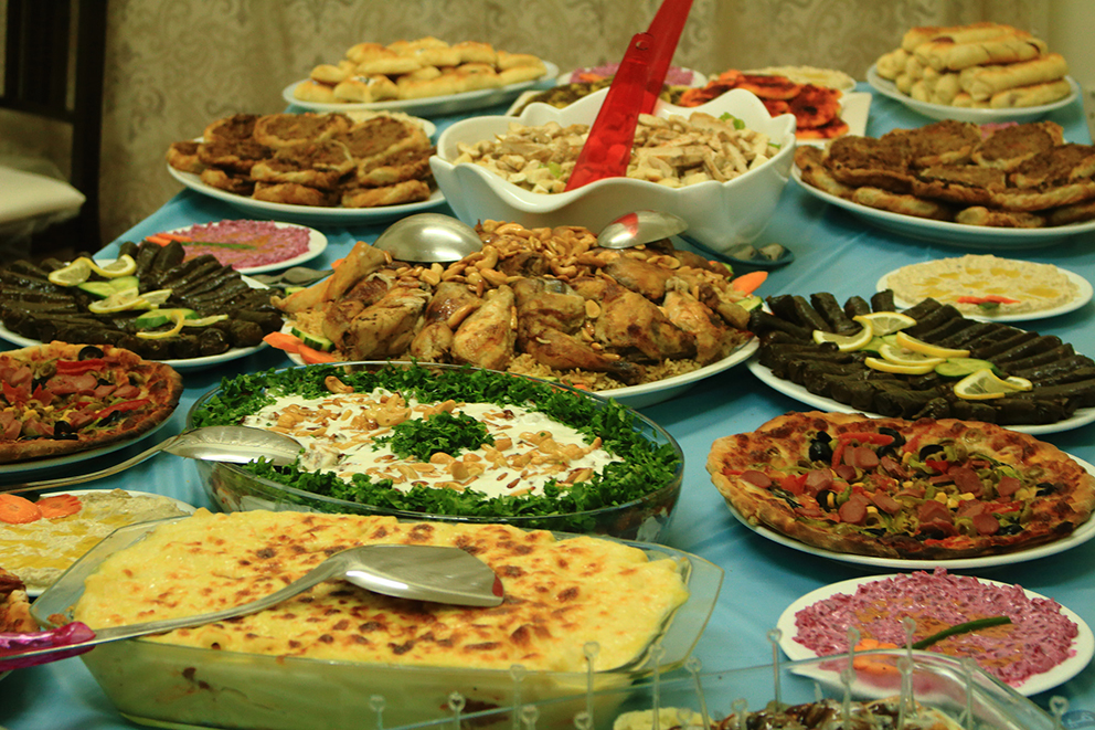 Iftar, Foto: Heba Ajamy, Flickr