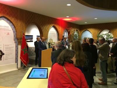 Eröffnung der Ausstellung zur Dedesertifikation in Marokko, Foto: Ulrike Askari